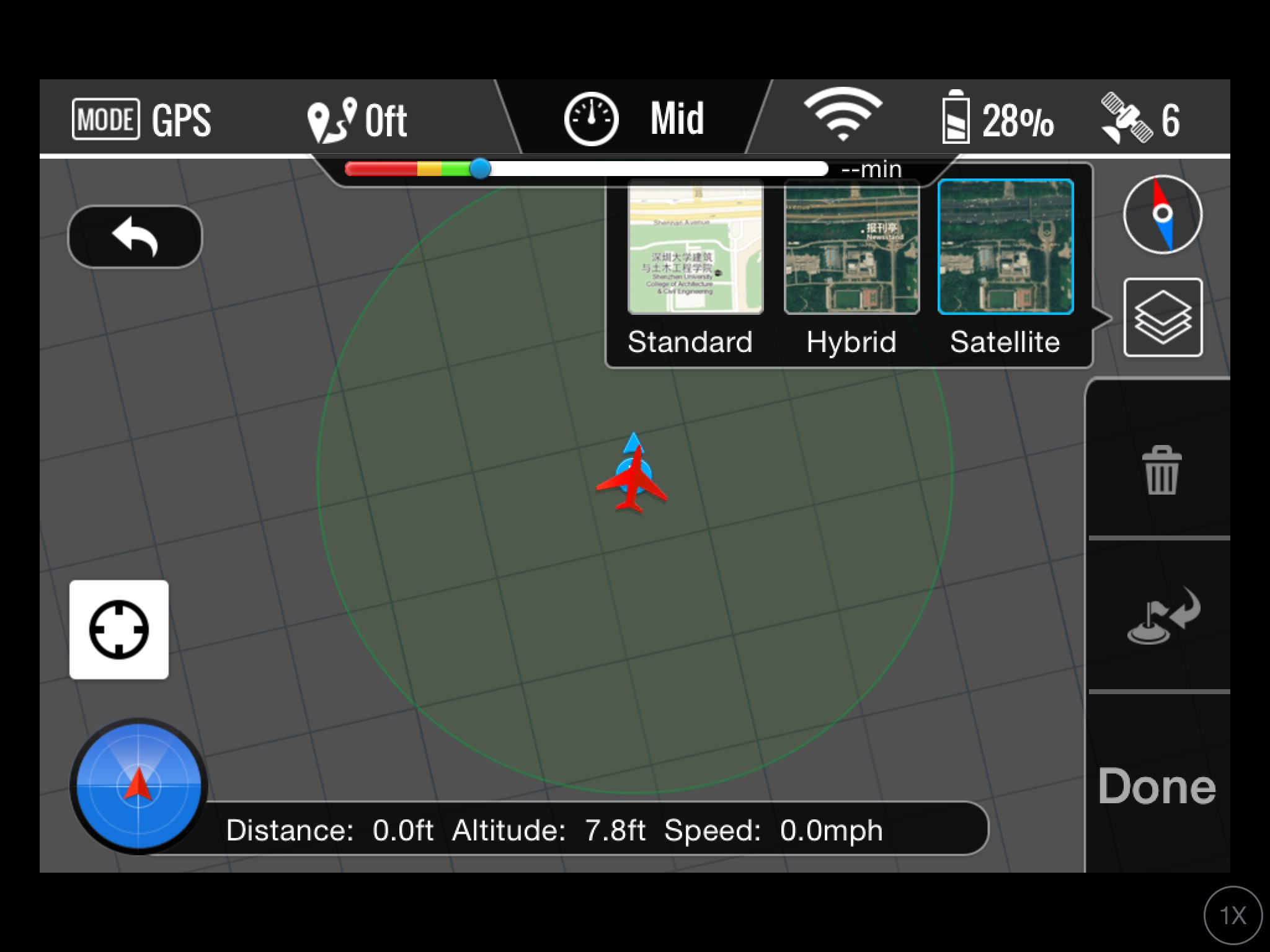 no map on ground station screen | DJI Phantom Drone Forum