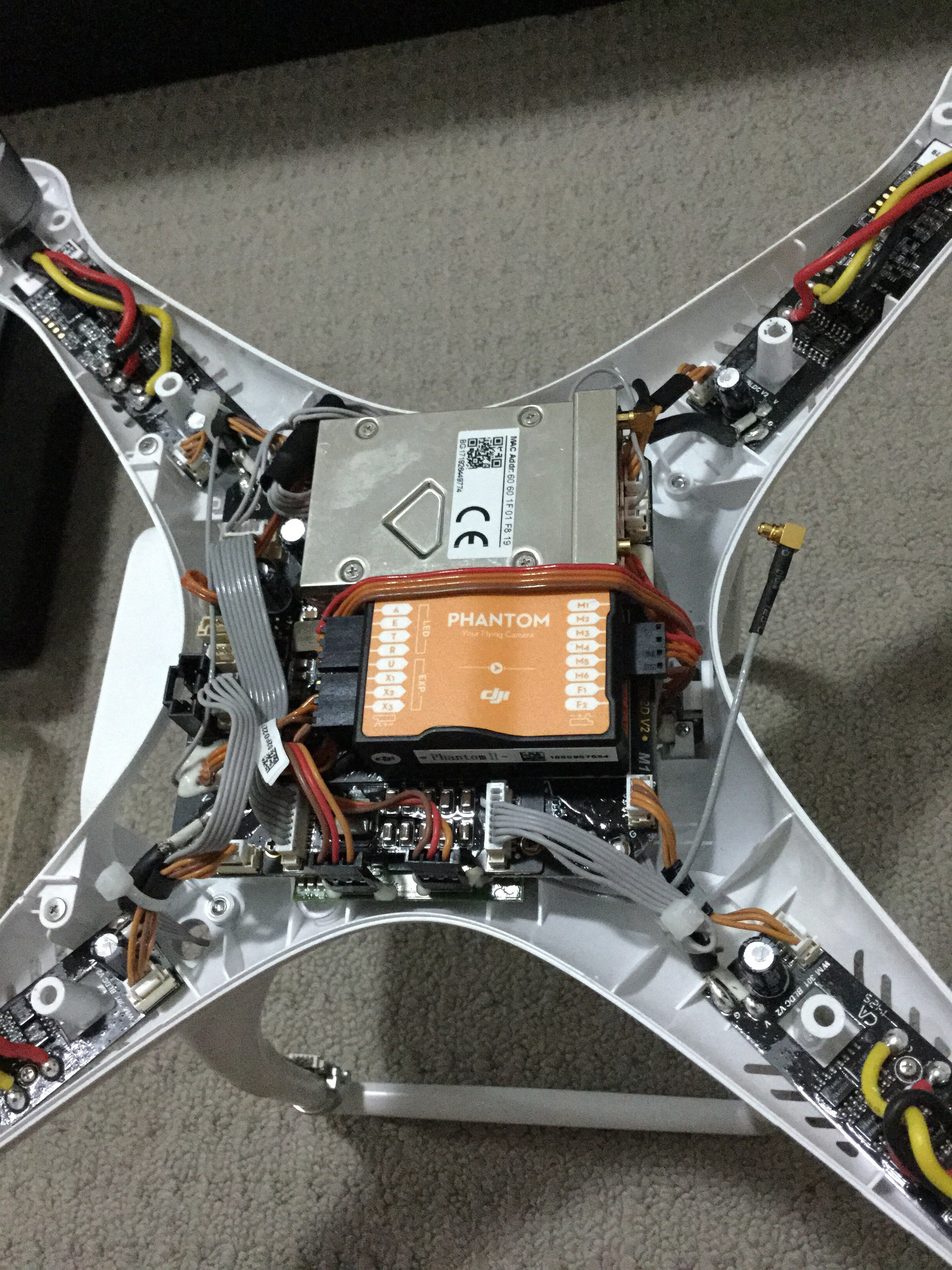 Naza V2 Wiring Diagram Com Bull View Topic V Iosd Mini Pmu Or Detailed Dji Phantom Drone Forum Image