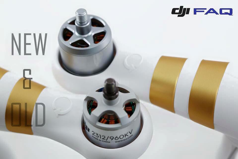 DJI PHANTOM REPLACEMENT Motor 920 KV wCW Thread
