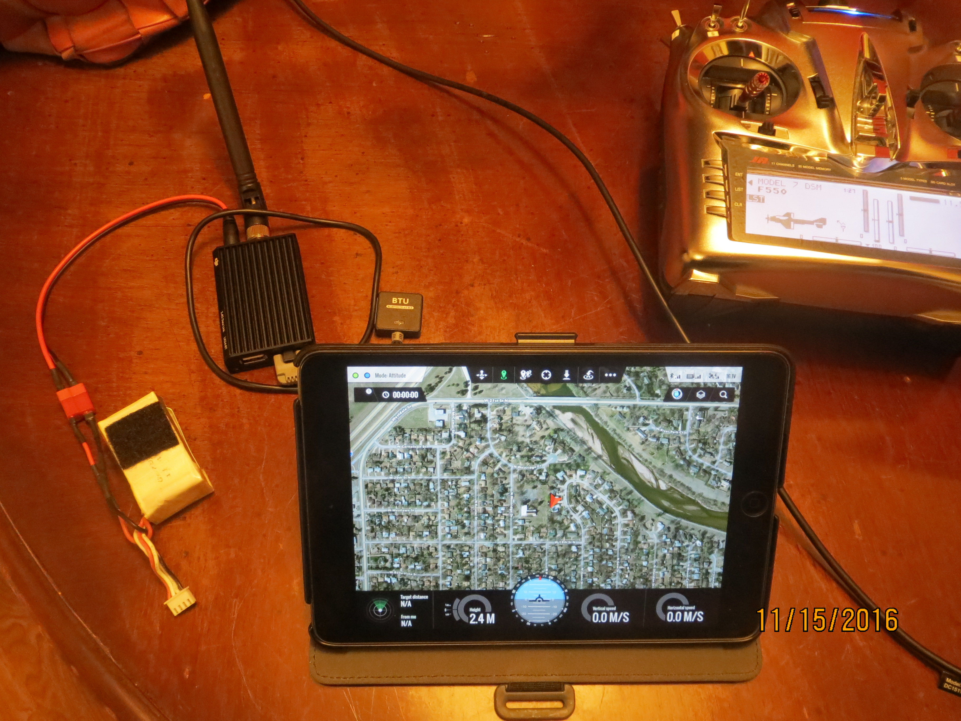 F550 with DJI Ground station and mini iOSD problems | DJI