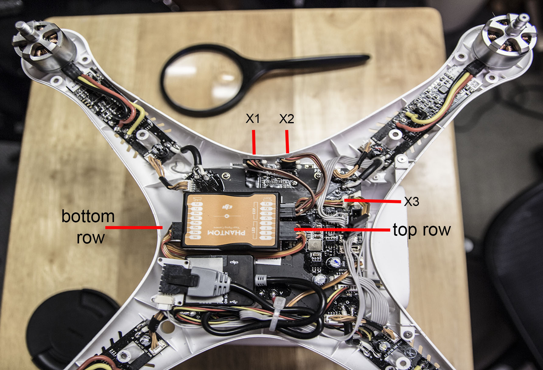 wire up phantom 2 dji phantom drone forum dji phantom 3 standard wiring diagram at soozxer.org