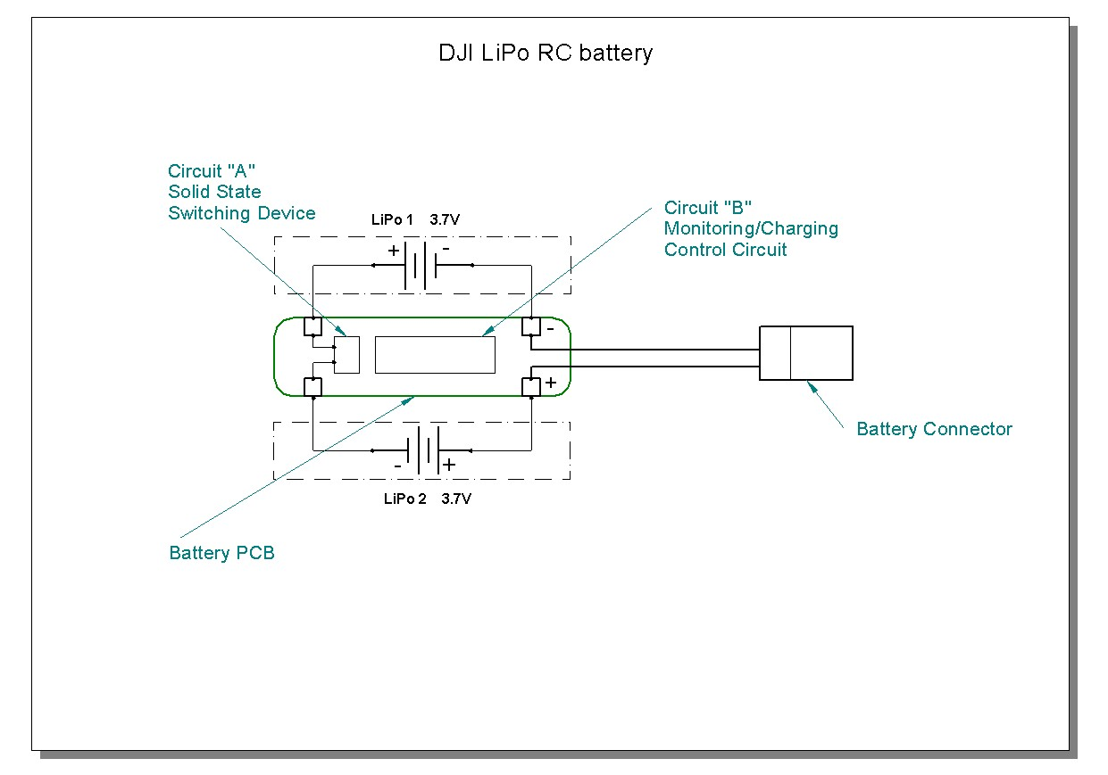 Phantom 3 RC LiPo battery repair – Lipo Battery Wiring Diagram