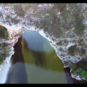 Sunset drone flight around Pont d'Arc (DJI Phantom 2 Vision +) - YouTube