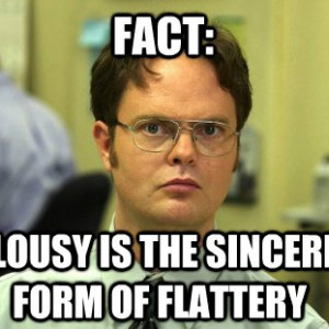Jealousy Dwight