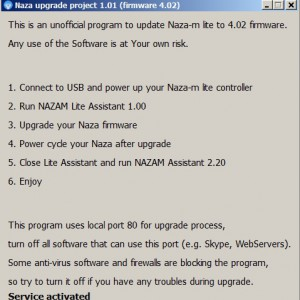 Naza Upgrade Tool Hack