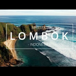 DJI Phantom : Majestic Lombok - YouTube