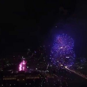 DJI Phantom 3 Advanced Sample video 1080 60fps 1600 ISO 4th of July 2015 fireworks in Philadelphia - YouTube