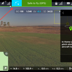 iOS Intelligent Flight Modes