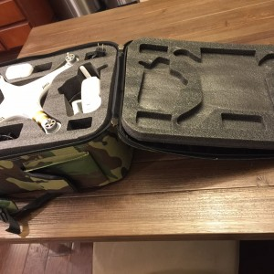 P3 cheap backpack case