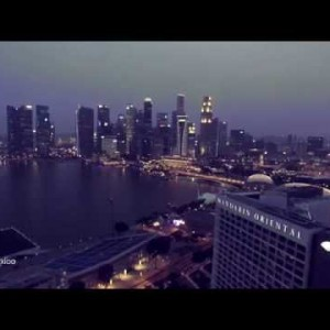 Singapore Night Shot and Timelapse Video in 4K