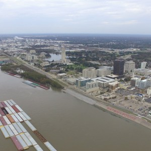 Baton Rouge and the Mississippi River with my Phantom 3 - YouTube