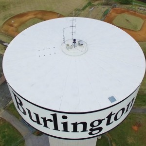 DJI Phantom 3 Professional - Ascending Point of View of Water Tower - YouTube