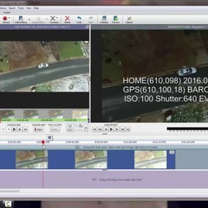 DJI Phantom 3 Professional - Incorporating the .SRT file into your Flight Video - YouTube