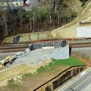Updated Aerial View of I-840 Greensboro Urban Loop Construction - McLeansville, NC - YouTube