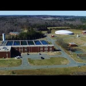 Aerial Views of the JD Mackintosh Water Treatment Plant - Burlington, NC - YouTube