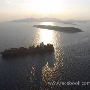 Piraeus port aerial video - DJI Phantom 3 Professional - YouTube