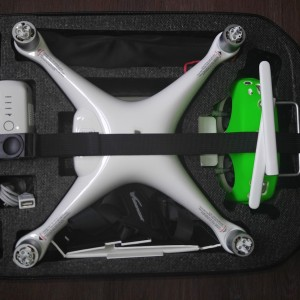 DJI Phantom 3 - Backpack : edited for Phantom 4