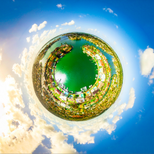 James Cook Island little planet