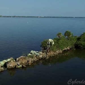 Dragon's Point, the southmost tip of Merritt Island - YouTube