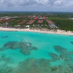 Punta Cana - Bavaro Beach Aerial - YouTube