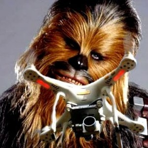 Chewbacca's voice within quadcopter drone - YouTube