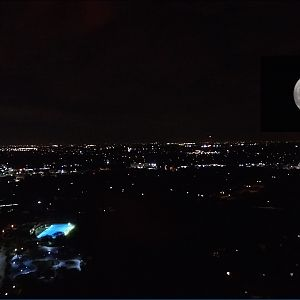 Super Moon from Texas