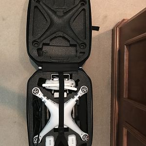 Phantom 3 Advanced in Case