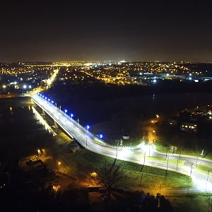 Kaunas at night