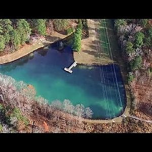 Aerial View of Brumley Forest Nature Preserve