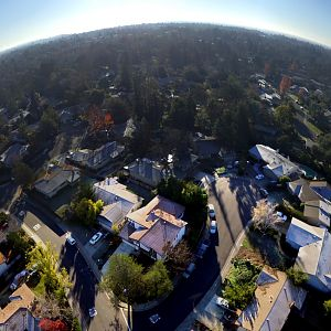 Pano of my neighborhood