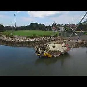 It's a dilapidated boat! - YouTube