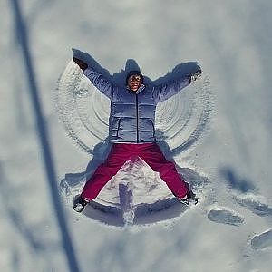 Sharon the Snow Angel