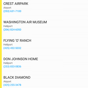 Advisories 2 Airport info