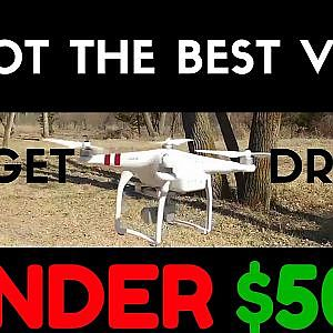 Best Drone Under $500 With Professional Quality Camera | DJI Phantom 3 Standard Review & FAQs Video - YouTube