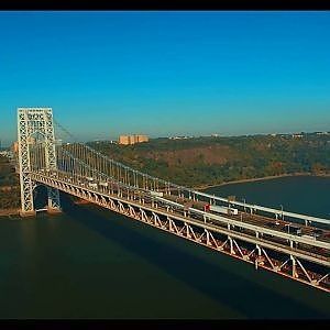 [UNBELIEVABLE] Drone Footage of GWB in NYC {Pt 1 of 2} {HOW'S THIS POSSIBLE??)