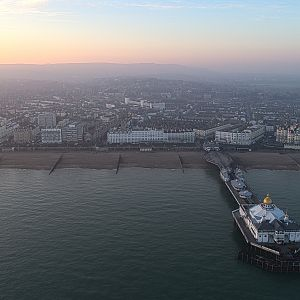 Eastbourne, East Sussex, looking West