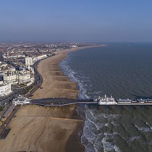 Eastbourne, East Sussex, looking North