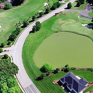 Aerial Views of Stoney Creek Golf Course - Whitsett, NC