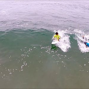 Learn how to surf at Renaca in Chile (Drone footage)