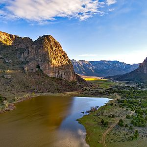 Thimble Peak and Unaweep Canyon