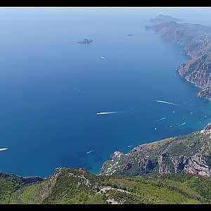 Flight over Positano - YouTube