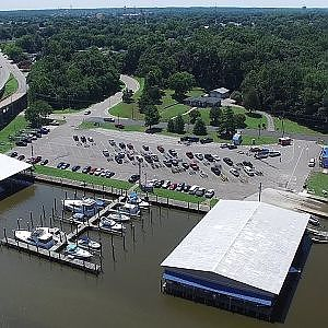 Aerial Views of Hopewell City Marina & Surrounding Area - Hopewell, Va