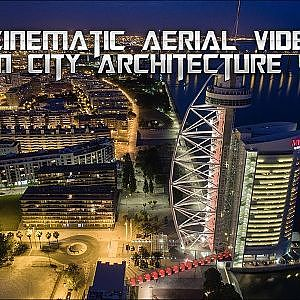 Modern City 4K UHD - A Cinematic Aerial Video - YouTube