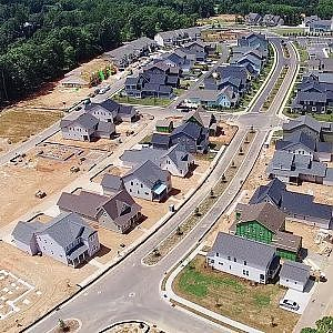 Aerial Views of Forest Ridge & Poplar Ridge Subdivisions - Hillsborough, NC