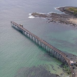Catherine Hill Bay Wharf NSW Australia