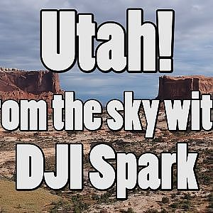 Utah From the Sky DJI Spark Bing Err HD Drone Aerial - YouTube
