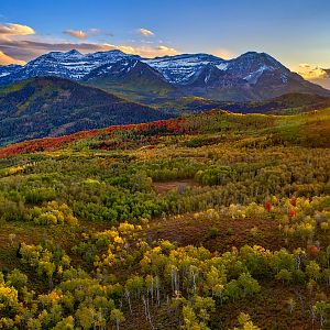 Autumn on Mt. Timpanogos, Utah