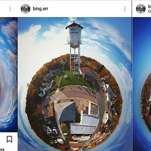Instagram Tiny Planets