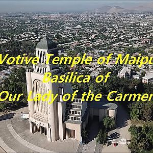 The votive temple of Maipu in Chile
