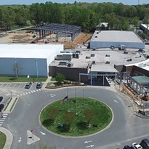 Latest Aerial Views of New Construction at the Orange County Sportsplex - Hillsborough, NC